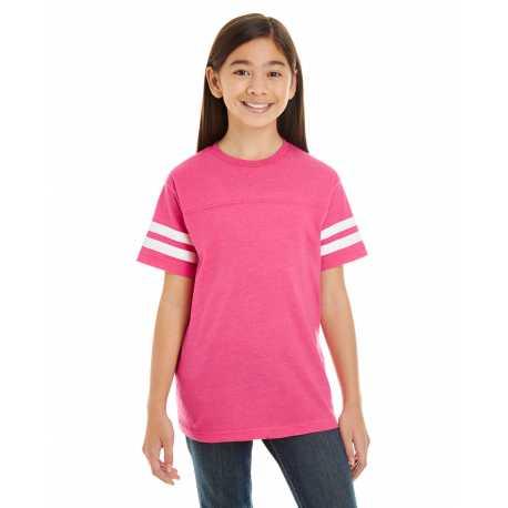 LAT 6137 Youth Football Fine Jersey T-Shirt