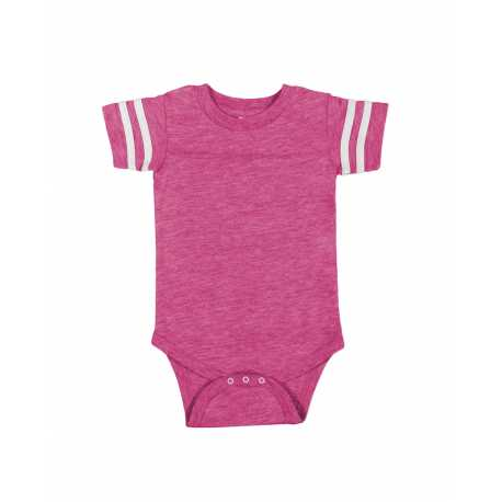 Rabbit Skins 4437 Infant Football Fine Jersey Bodysuit