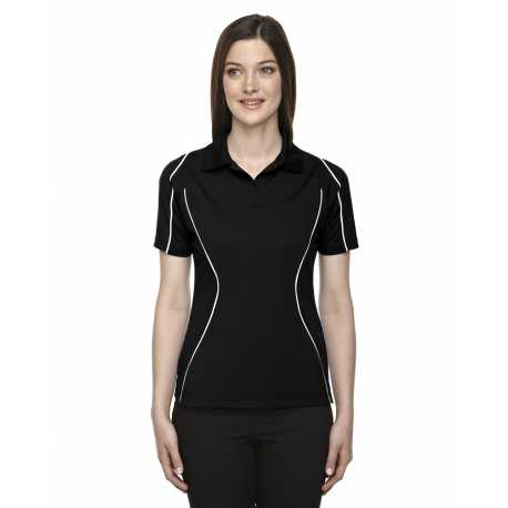 Extreme 75107 Ladies' Eperformance Velocity Snag Protection Colorblock Polo with Piping