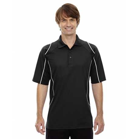 Extreme 85107 Men's Eperformance Velocity Snag Protection Colorblock Polo with Piping