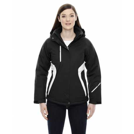 North End Sport Red 78664 Ladies' Apex Seam-Sealed Insulated Jacket