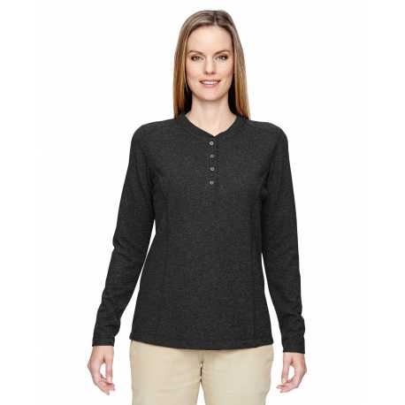 North End 78221 Ladies' Excursion Nomad Performance Waffle Henley