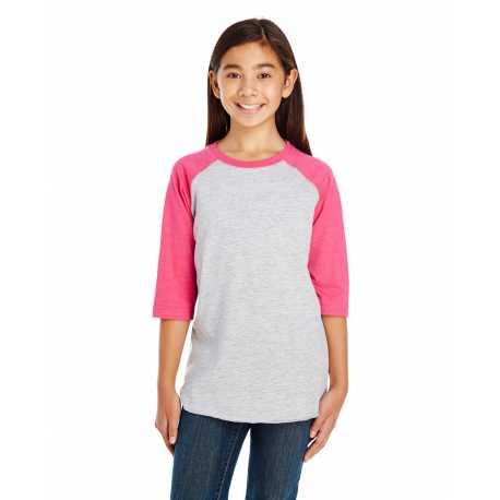 LAT 6130 Youth Baseball Fine Jersey T-Shirt