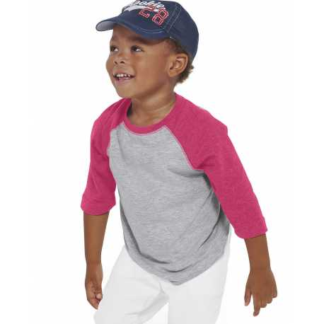 Rabbit Skins RS3330 Toddler Baseball Fine Jersey T-Shirt