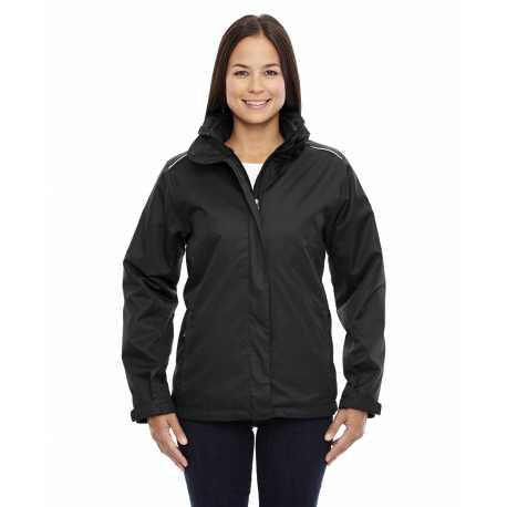 Core365 78205 Ladies' Region 3-in-1 Jacket with Fleece Liner