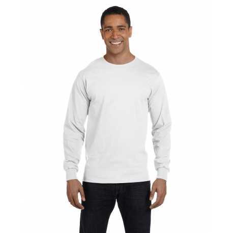 Hanes 5286 Men's 5.2 oz. ComfortSoft Cotton Long-Sleeve T-Shirt
