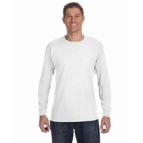 Hanes 5586 Adult 6.1 oz. Tagless Long-Sleeve T-Shirt