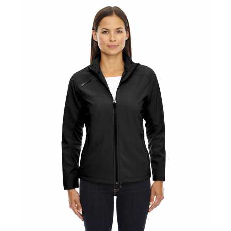 North End Sport Red 78621 Ladies' Three-Layer Light Bonded Soft Shell Jacket