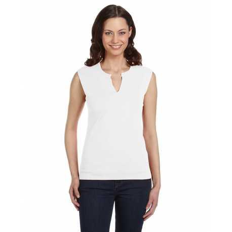 Bella + Canvas B820 Ladies' Cotton/Spandex Slit-V Raglan T-Shirt