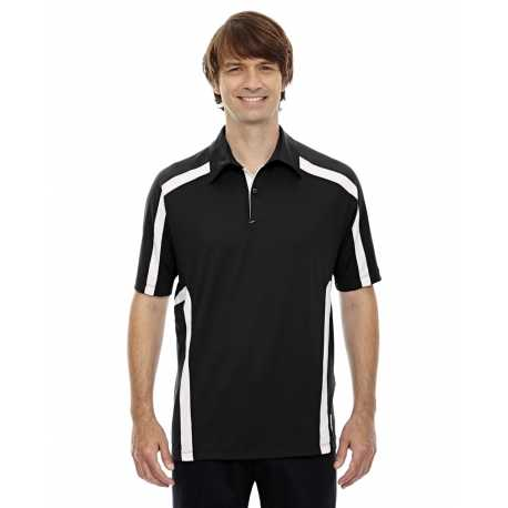 North End Sport Red 88667 Men's Accelerate UTK cool.logik Performance Polo