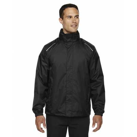 Core365 88185 Men's Climate Seam-Sealed Lightweight Variegated Ripstop Jacket