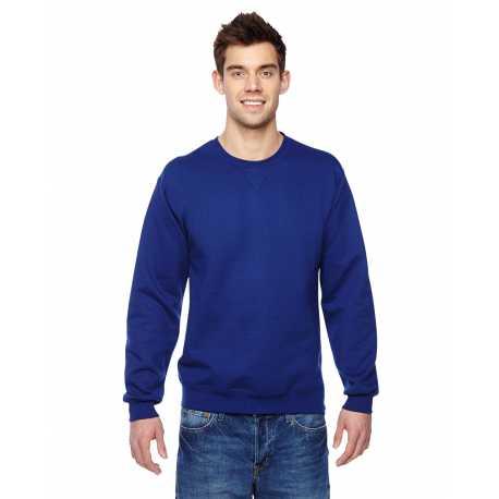Fruit Of The Loom SF72R Adult 7.2 oz. Sofspun Crewneck Sweatshirt