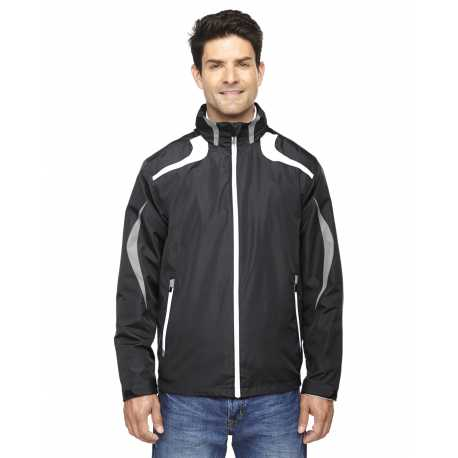North End Sport Red 88644 Men's Impact Active Lite Colorblock Jacket