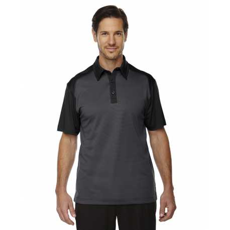 North End Sport Red 88676 Men's Symmetry UTK cool.logik Coffee Performance Polo