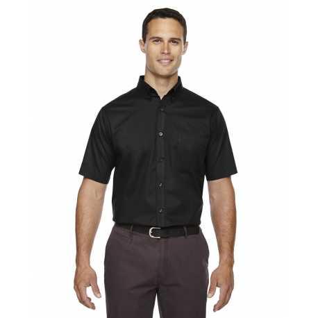 Core365 88194T Men's Tall Optimum Short-Sleeve Twill Shirt