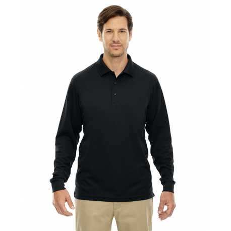 Core365 88192T Men's Tall Pinnacle Performance Long-Sleeve Pique Polo