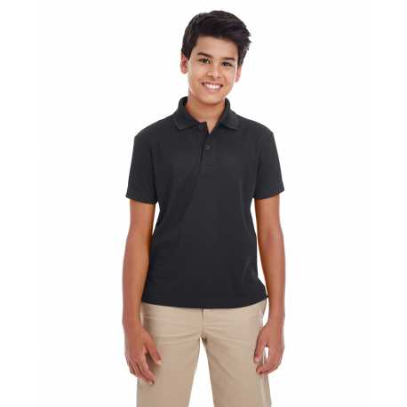 Core365 88181Y Youth Origin Performance Pique Polo
