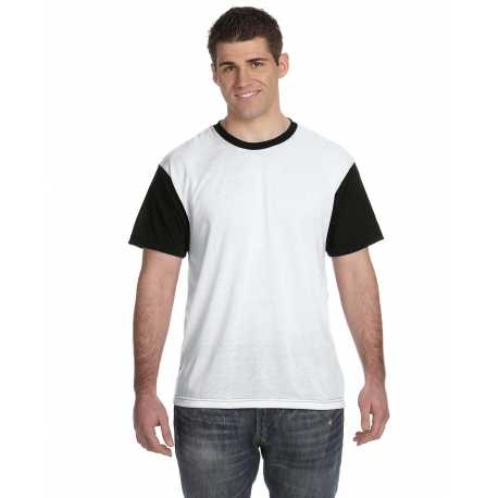Sublivie S1902 Adult SubliVie Adult Blackout Sublimation Polyester T-Shirt