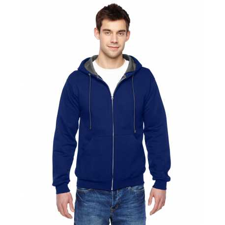 Fruit Of The Loom SF73R Adult 7.2 oz. Sofspun Full-Zip Hooded Sweatshirt