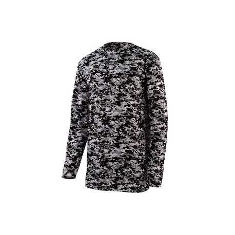 Augusta Sportswear 2788 Adult Digi Camo Wicking Long-Sleeve T-Shirt