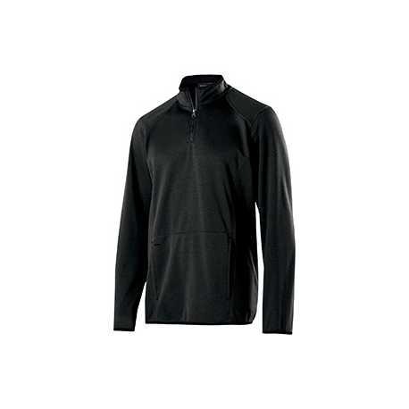 Holloway 229176 Adult Polyester Fleece 1/4 Zip Artillery Pullover