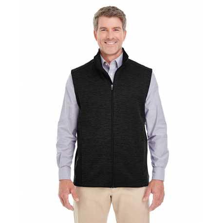 Devon & Jones DG797 Men's Newbury Melange Fleece Vest