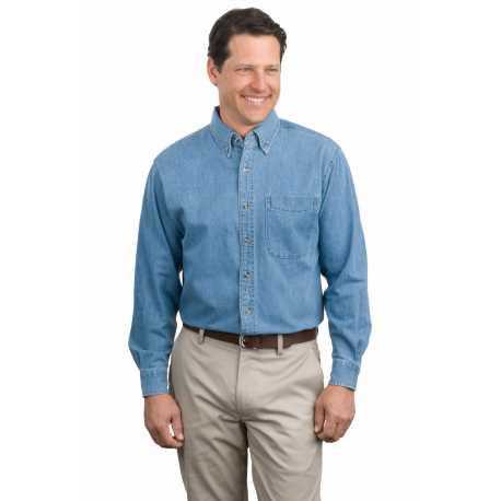 Port Authority S600 Long Sleeve Denim Shirt