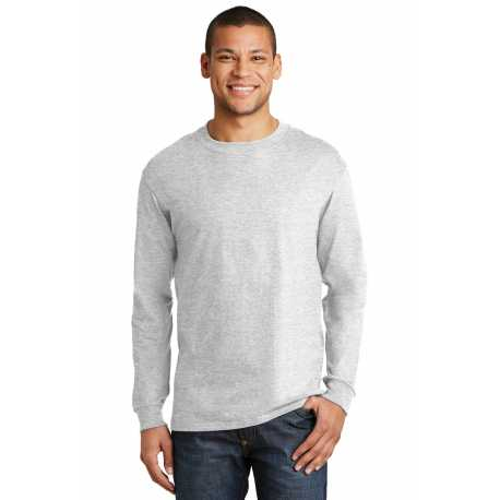 Hanes 5186 Beefy-T 100% Cotton Long Sleeve T-Shirt