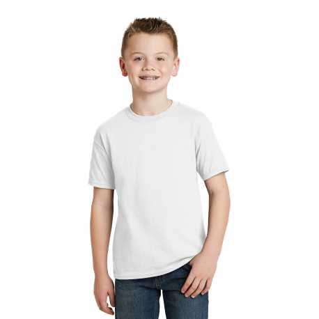 Hanes 5370 Youth EcoSmart 50/50 Cotton/Poly T-Shirt