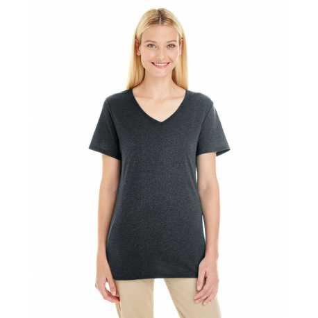Jerzees 601WVR Ladies' 4.5 oz. TRI-BLEND V-Neck T-Shirt