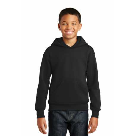 Hanes P470 Youth EcoSmart Pullover Hooded Sweatshirt