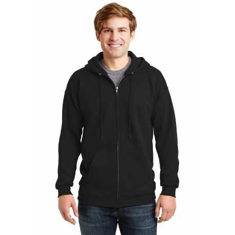 Hanes F283 Ultimate Cotton Full-Zip Hooded Sweatshirt