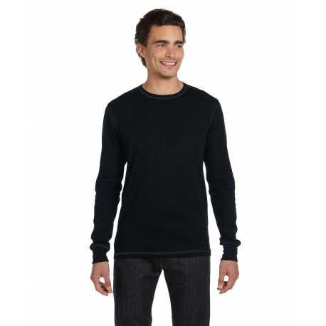 Bella + Canvas 3500 Men's Thermal Long-Sleeve T-Shirt