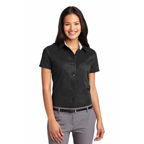 Port Authority L508 Ladies Short Sleeve Easy Care Shirt