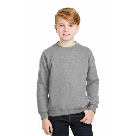 Gildan 18000B Youth Heavy Blend Crewneck Sweatshirt