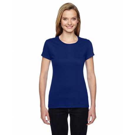 Fruit Of The Loom SSFJR Ladies' 4.7 oz. Sofspun Jersey Junior Crew T-Shirt