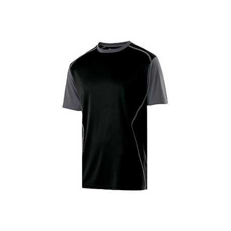 Holloway 222501 Adult Polyester Short Sleeve Piston Shirt