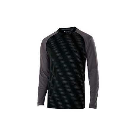 Holloway 222511 Adult Polyester Long Sleeve Torpedo Shirt