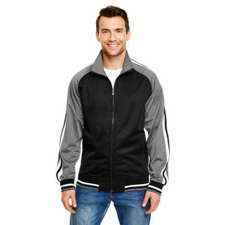 Burnside B8653 Adult Varsity Track Jacket