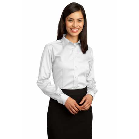 Red House RH25 Ladies Non-Iron Pinpoint Oxford Shirt