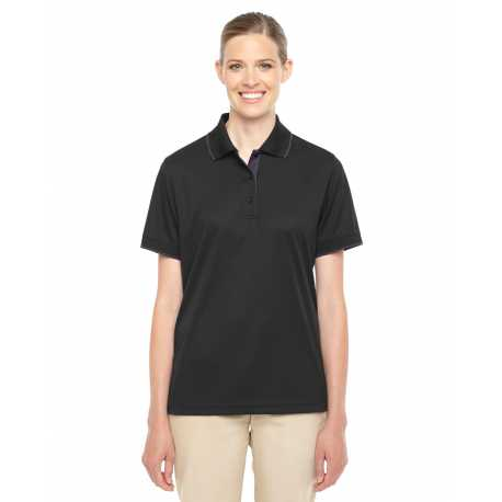 Core365 78222 Ladies' Motive Performance Pique Polo with Tipped Collar