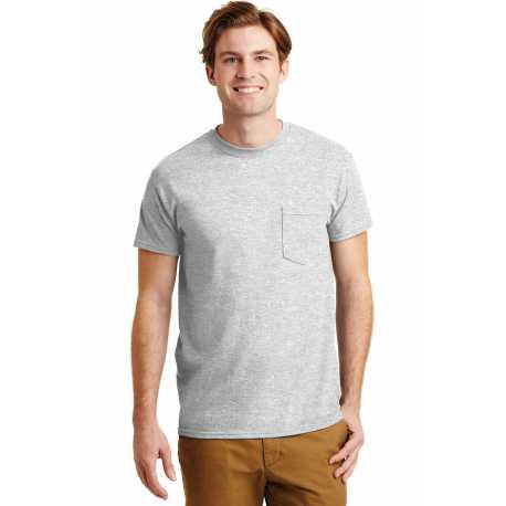 Gildan 8300 DryBlend 50 Cotton/50 Poly Pocket T-Shirt