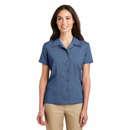 Port Authority L535 Ladies Easy Care Camp Shirt