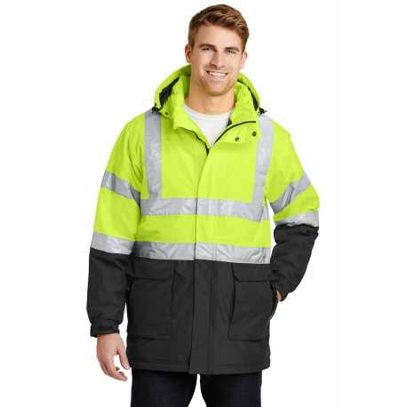 Port Authority J799S ANSI 107 Class 3 Safety Heavyweight Parka