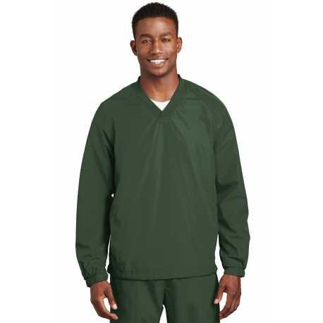 Sport-Tek JST72 V-Neck Raglan Wind Shirt