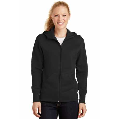 Sport-Tek L265 Ladies Full-Zip Hooded Fleece Jacket