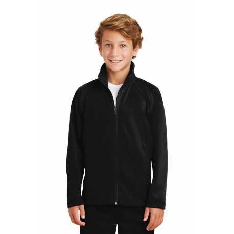 Sport-Tek YST90 Youth Tricot Track Jacket