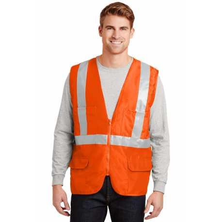 CornerStone CSV405 ANSI 107 Class 2 Mesh Back Safety Vest