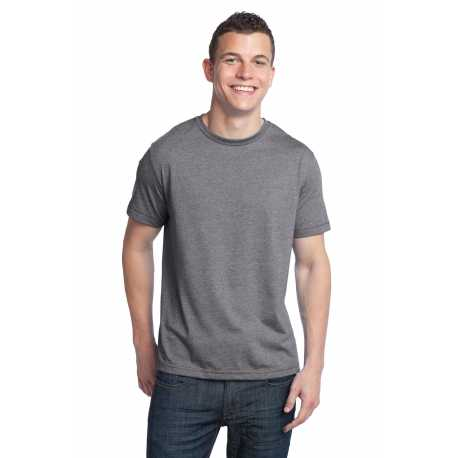 District DT142 Young Mens Tri-Blend Crewneck Tee