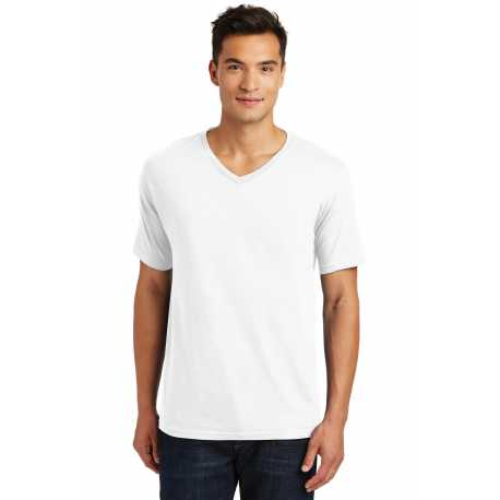 District Made Made DT1170 Made Mens Perfect Weight V-Neck Tee